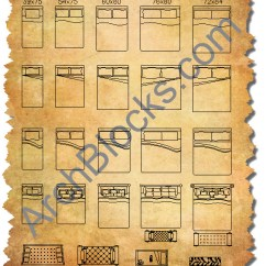 Bedroom Chair Cad Block Wing Back Cover Furniture Blocks Autocad Symbols Of Bed Archblocks Library
