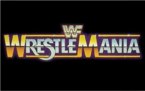 WrestleMania_1_logo