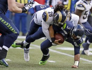 Mark Barron has a chance to be a key piece to the Rams defense in 2015. Photo by Elaine Thompson.