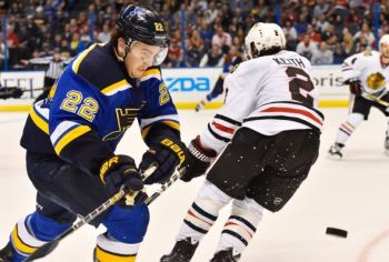 No matter the playoff failures, Blues fans remain optimistic, as they should. Photo via Jasen Vinlove/USA TODAY Sports.