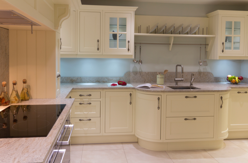 make sure your kitchen sink matches up with your countertops