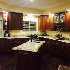 Replace Kitchen Countertop Reclaimed Cabinets Installing Granite Or Cabinet Refacing: Which Comes First?