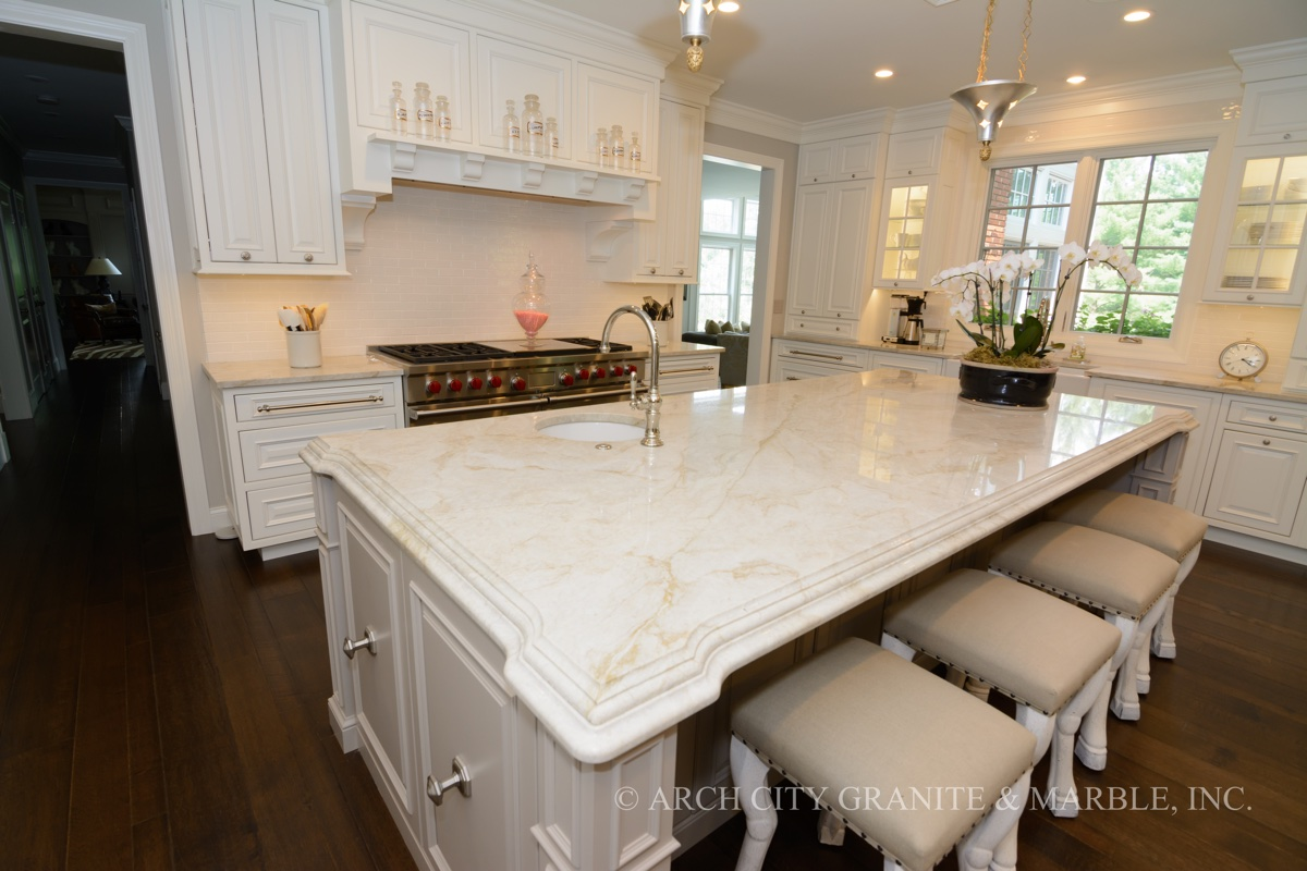 kitchen cabinet granite top appliance colors countertop gallery st. louis gallery: arch city ...