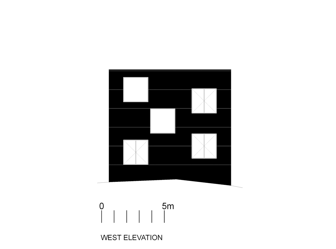 poli-elev-o west facade