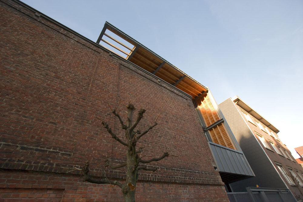 Franken House - Bekhor Architecte © Laurent Brandajs