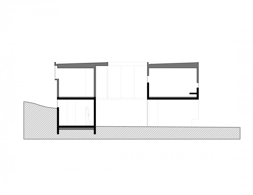 Los Molles House - Oltmann Ahlers W. - Oltmann Ahlers G. - dRN Arquitectos section D