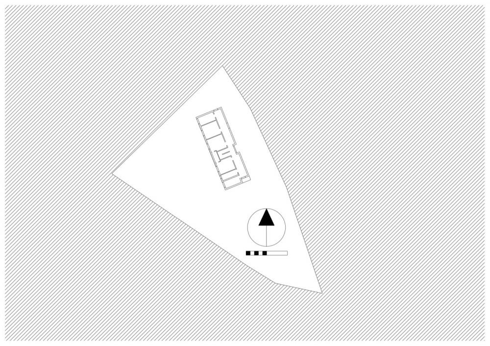 Plastic House - Unit Arkitektur AB site plan