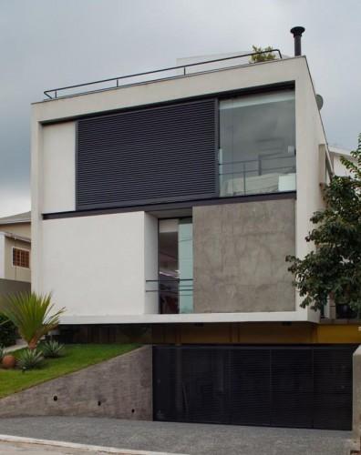 Mirante do Horto House / Flavio Castro © Nelson Kon