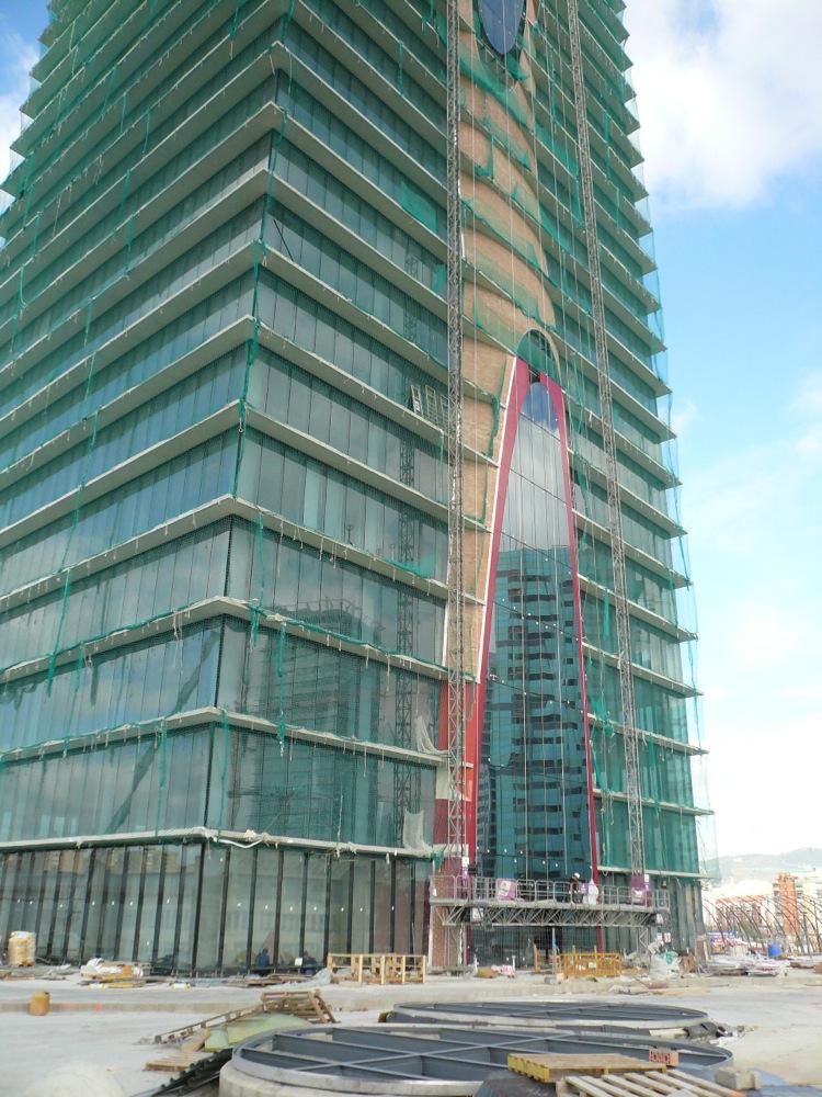 fotos construcción torre de oficinas-1