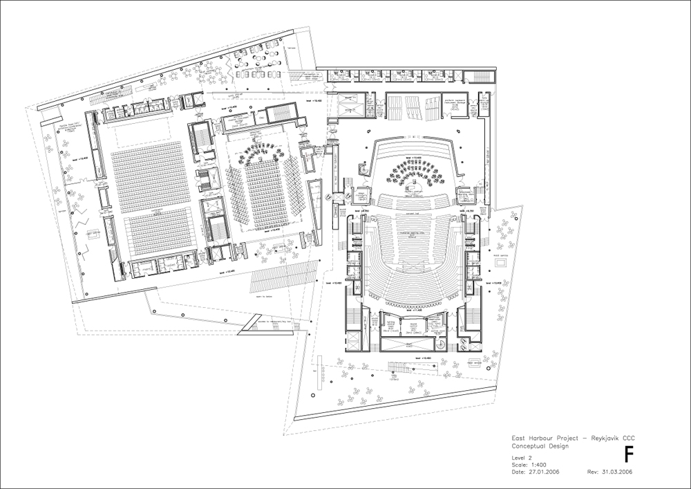 max990200.dgn Floor Plan © Henning Larsen Architects