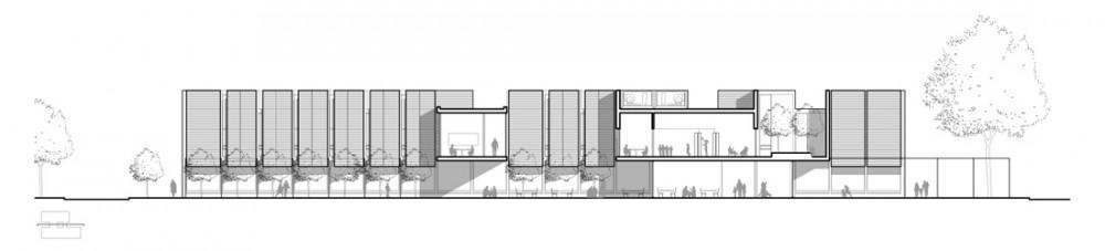 CMA_NDG_06_Section Courtesy of Chevalier Morales Architectes