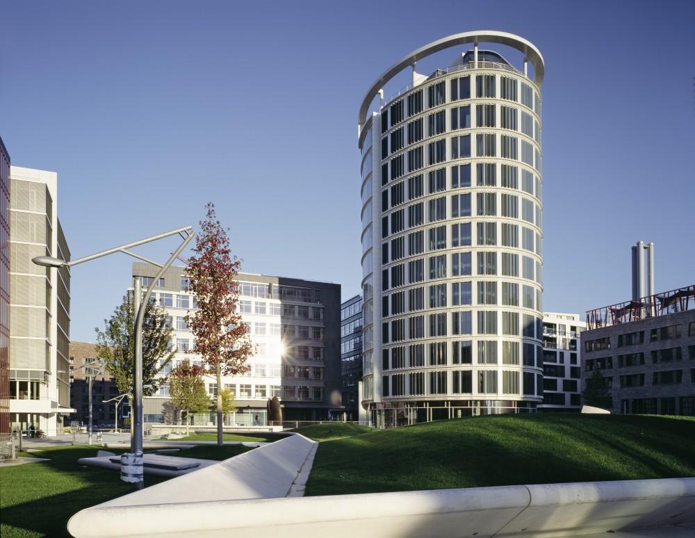International Coffee Plaza / Richard Meier & Partners (1) © Klaus Frahm