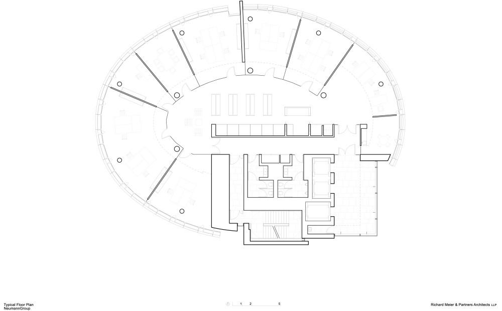International Coffee Plaza / Richard Meier & Partners (16) plan 02