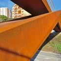 Can Gili Footbridge / Alfa Polaris © Xavier Font