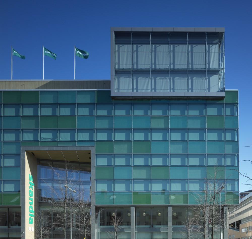 Green Building / Brunnberg & Forshed Arkitektkontor AB © Robin Hayes