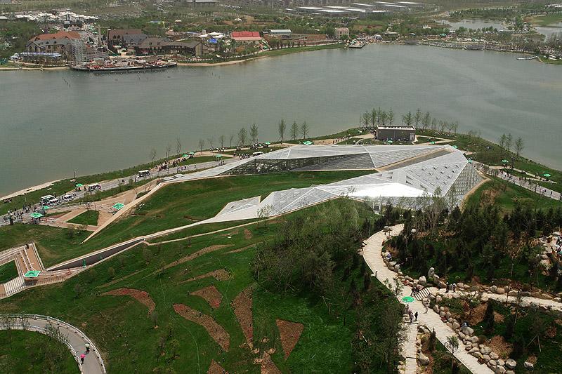 greenhouse-birdview Plasma Studio and Huashang Newspaper
