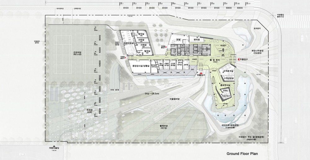 The Korea Teachers Pension Head Office / Tomoon Architects and Engineers plan 01