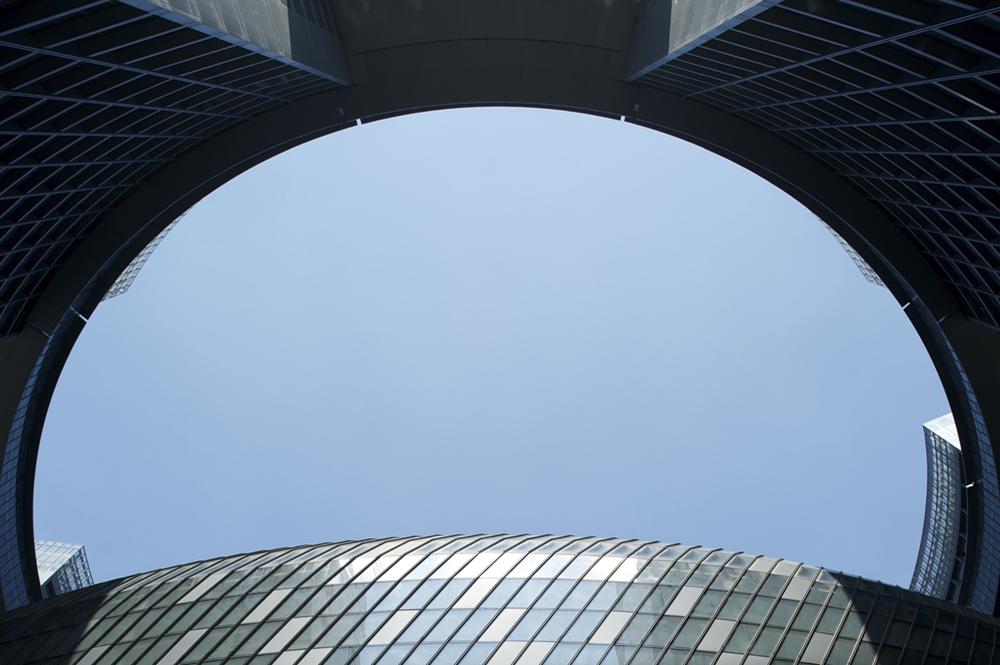 Facade Planning for the Hangzhou Congress Center / Peter Ruge Architekten © Jan Siefke Photography