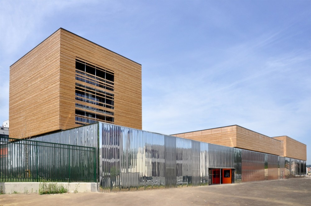College Sports Hall / archi5 © Fabien Terreaux