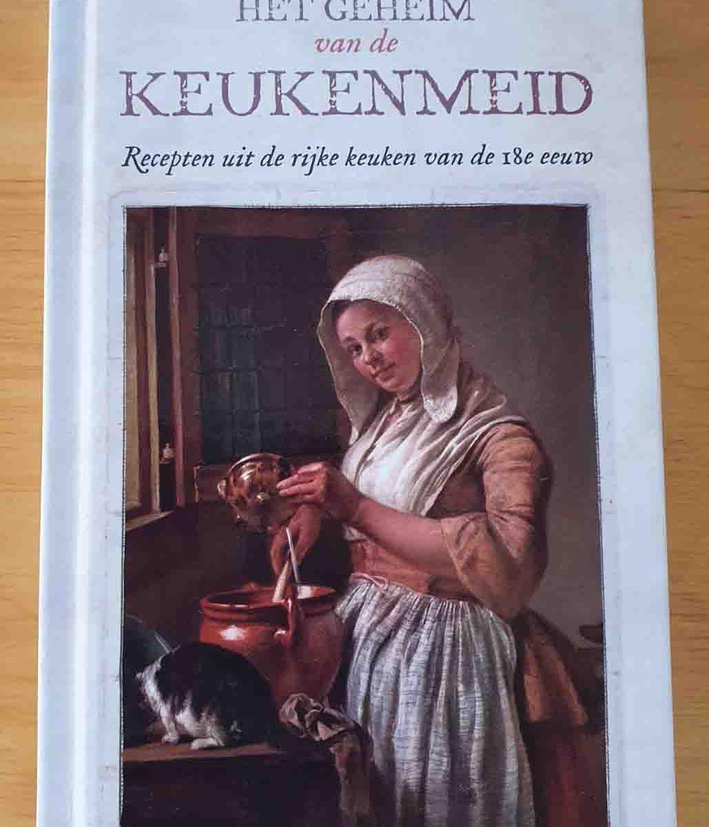 Boek het geheim van de keukenmeid