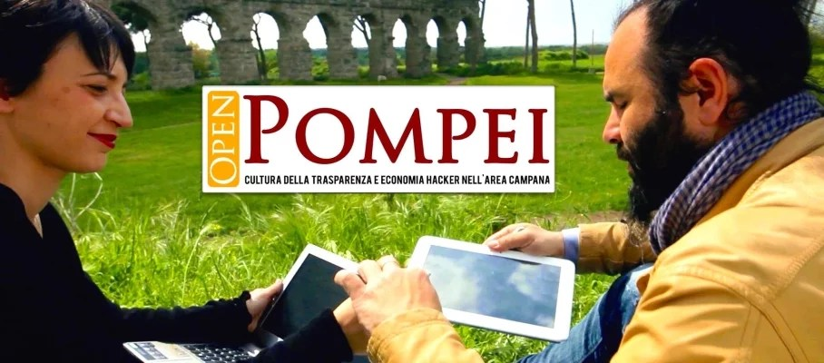 open pompei, open data