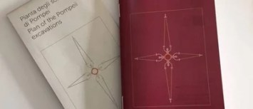 pompei, brochure, branding