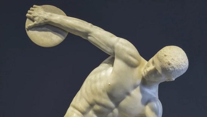 discobolo di Mirone, Olimpiadi