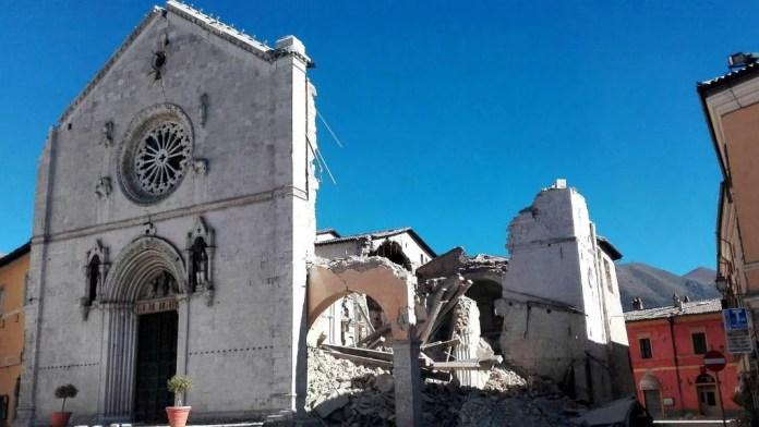Norcia, terremoto, casa degli Anici