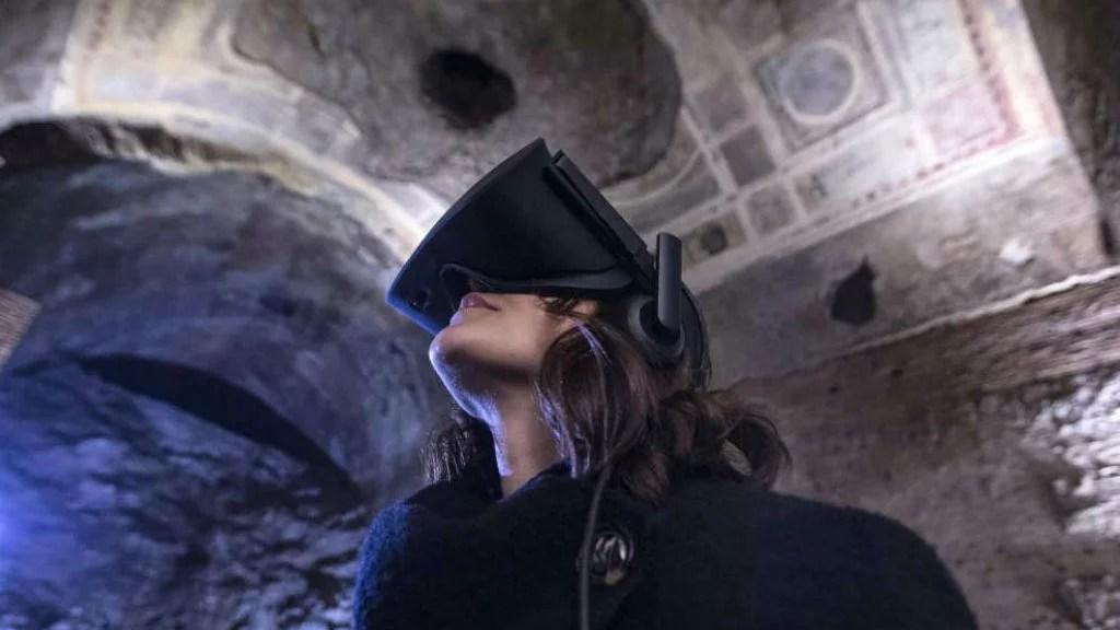 Realtà immersiva, la tecnologia che ti riporta ai tempi di Augusto e Nerone