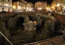 Catania, Piazza Stesicoro, patrimonio culturale