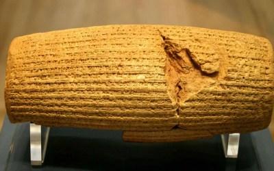 L'importanza delle biografie degli oggetti, ovvero cosa racconta il Cilindro di Ciro