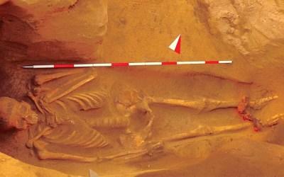 In mostra a Populonia la recentissima scoperta dell'Uomo in Ceppi