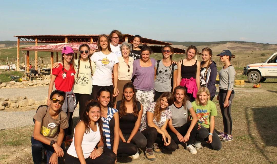 Alla Civita di Tarquinia, alternanza scuola-lavoro per scoprire l'archeologia