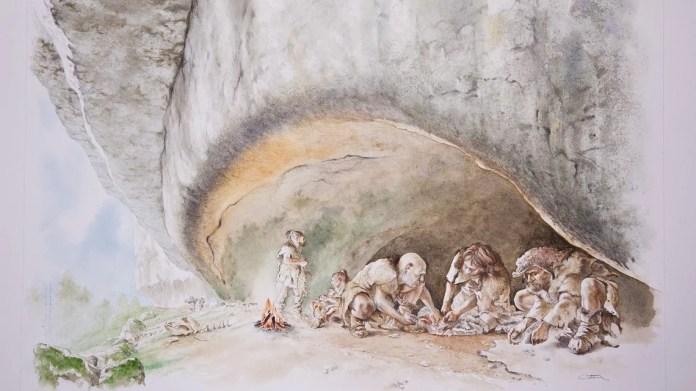caverna Neandertal