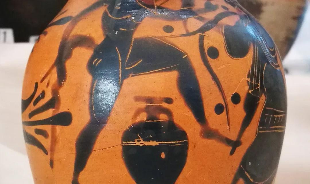 L'opera al nero alle origini dell'etrusca Spina