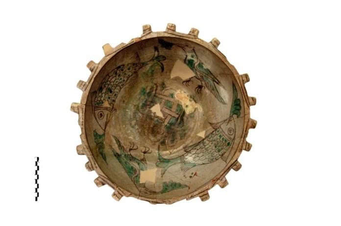 Museo Santa Scolastica catino invetriato