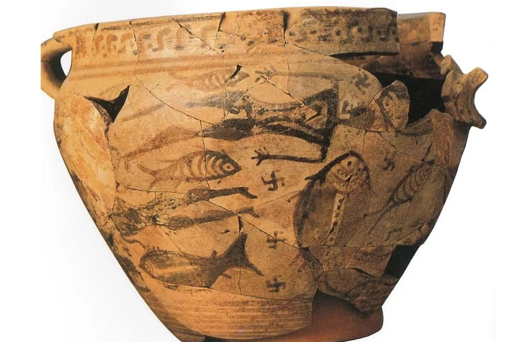 Morte in mare: il cratere del naufragio (VIII sec. a.C., Ischia – Pithecusae)