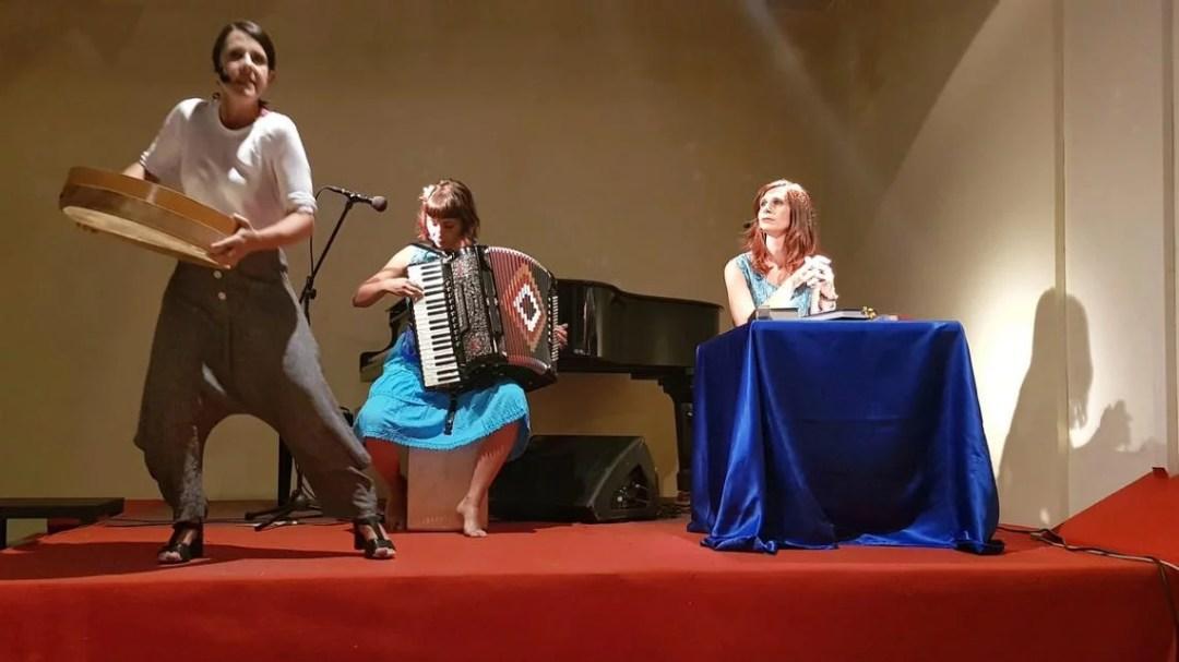 Lo spettacolo Lucrezia e le altre al Festival dell'antico