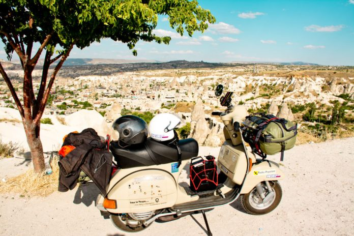 Iran in Vespa. Cappadocia, la valle di Goreme