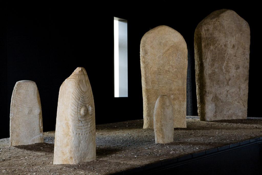 Museo Alto Garda statue stele
