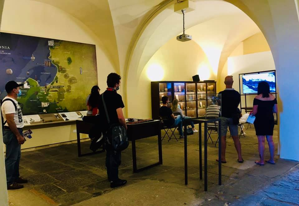 Museo Populonia visita sicurezza