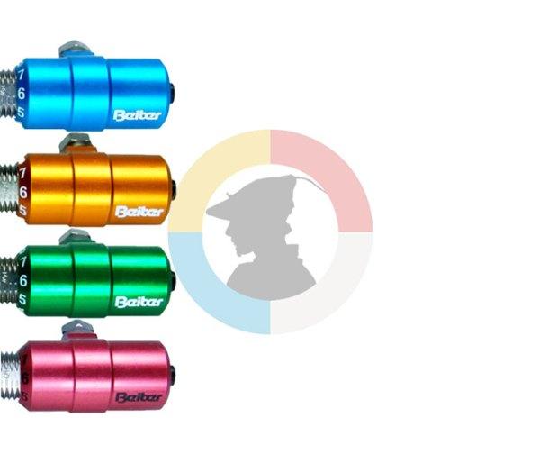 """Beiter Button 5/16"""" in verschiedenen Farben"""