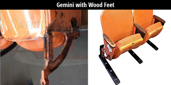 Astrodome Gemini Kit with Wood Feet