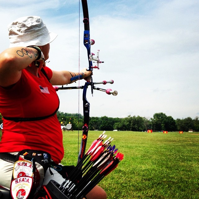 Paralympian Lee Ford is a great example of an archer who consistently focuses on strong shots.