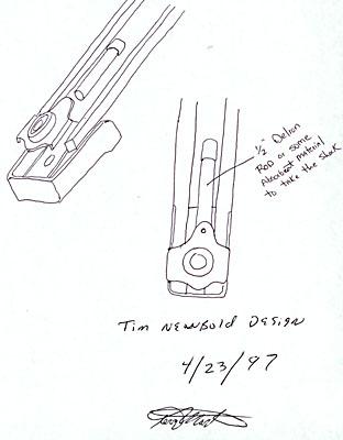 Built-in limb stabilizer