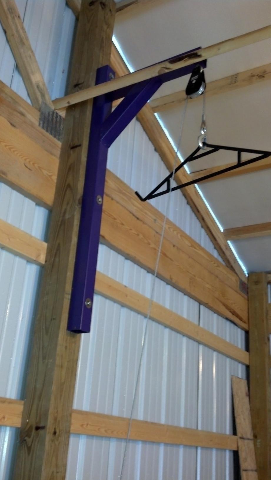 skinning shed pole setups archery