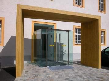 Stift Melk - Wirtschaftshof und Stiege acw Architekt DI Christian Wöhrer, Wien, Wien, Österreich Foto: Christian Wöhrer
