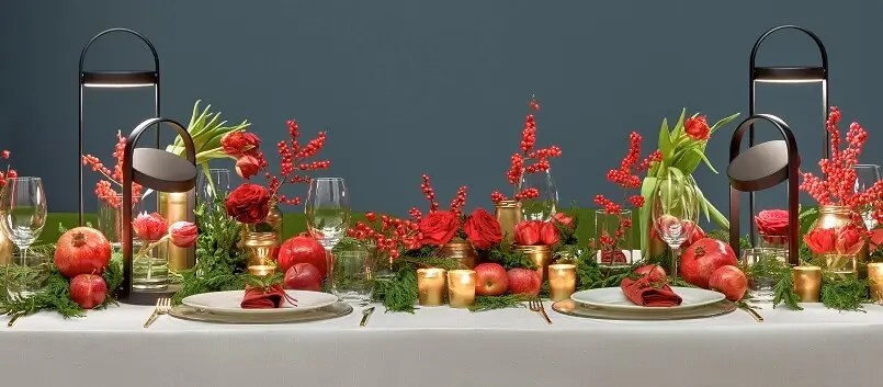 Traditional Christmas Table Decorations