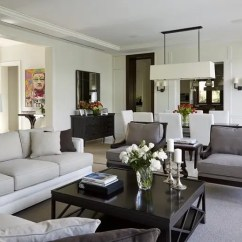 Living Room Ideas Traditional Navy Blue And Gray Smart Home Design Meets Contemporary Style By Dunagan Diverio Group