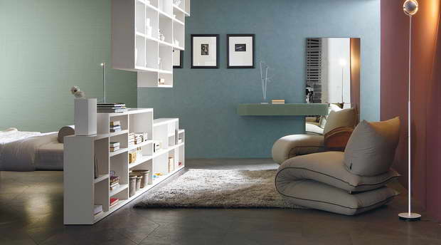 solid wood sofa set firm leather creative children's shelves | archi-living.com